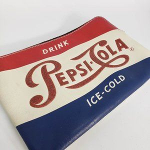 Coach Pepsi Cola Corner Zip Wristlet